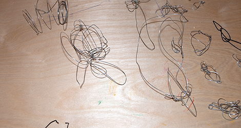 Wire sculptures 01